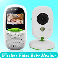 High quality Wireless 2.0 inch Video Color Baby Monitor Security Camera Baby Nanny Intercom Night Vision Temperature Monitoring