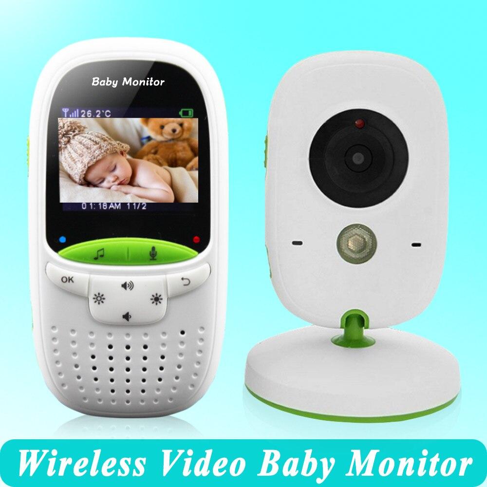 bilder für Hohe qualität Drahtlose 2,0 zoll Video Farbe Baby Monitor Überwachungskamera Baby Kindermädchen Intercom Nachtsicht Temperaturüberwachung