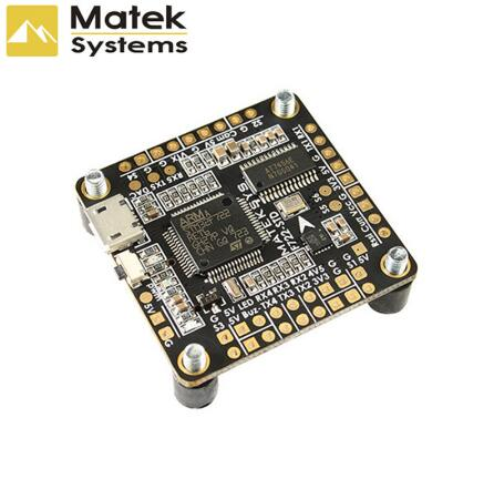 Matek Systems F722-STD F722 STD STM32F722 Flight Controller Built-in OSD BMP280 Barometer Blackbox for RC Models Multicopter fpv s2 osd barometer version osd board read naza data phantom 2 iosd osd barometer with 8m gps module