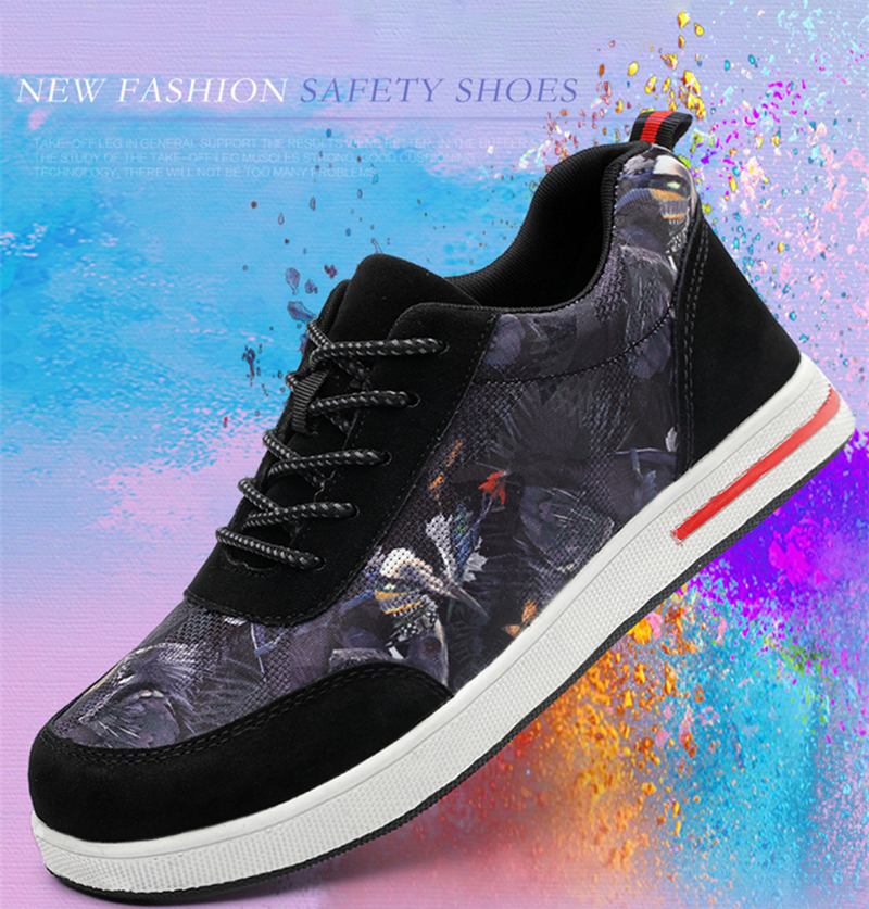 New-exhibition-2019-Fashion-Men-Safety-Shoes-Steel-Toe-color-Canvas-Work-Shoes-anti-smashing-piercing-Protective-Casual-Sneaker (10)