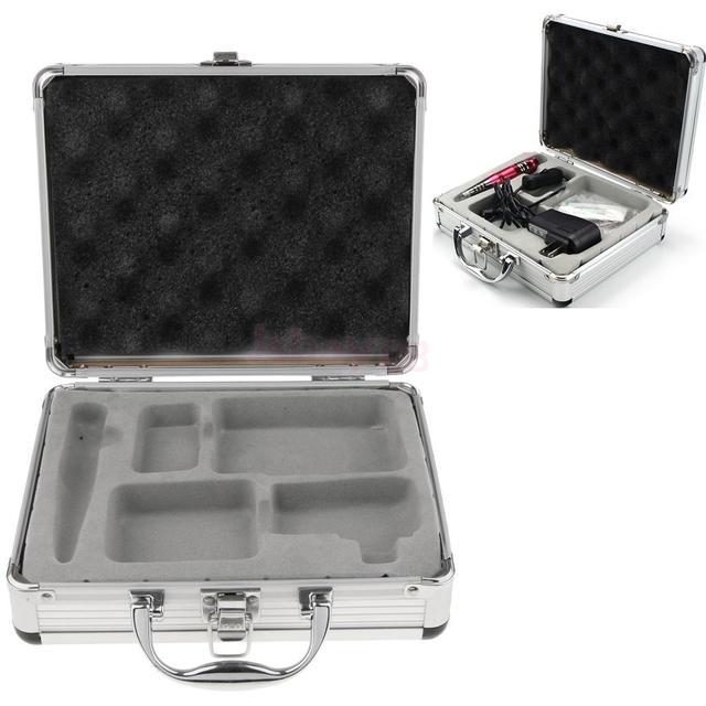 Aluminum Tattoo Case Machine Box with Lock for Tattooing Kits Tattoo Supplies Accessory