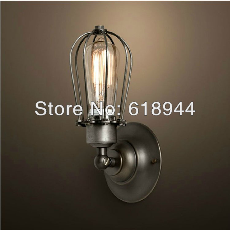 2013 NEW Antique Edison Light Bulb with Vintage Style Wall Lamps for Home Lighting, Indoor Lighting AC110V-240V 2013 antique outdoor lighting for wall decerative wall light with edison light bulb vintage wall lamps
