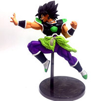 22 centímetros gráficos de animação dragon ball Z Broly toy Brolly SUPER soldier movie Broly figura de ação brinquedo PVC(China)