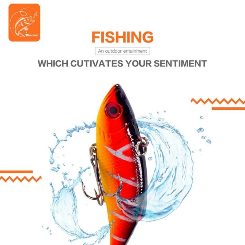 Thritop vissen lokken harde aas 7.5 cm 9.5g, hoge kwaliteit 5 - Visvangst - Foto 3