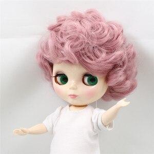 Image 4 - מפעל Blyth שמנמונת 90BL1063 ורוד מתולתל שיער חמוד גברת Plumpy 1/6 שומן ילדה צעצוע מתנה