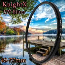 hot deal buy 52 -77 mc uc  lens filter accessories for nikon d5100 lens accessories camera filter nikon d5200 d3300 instax mini