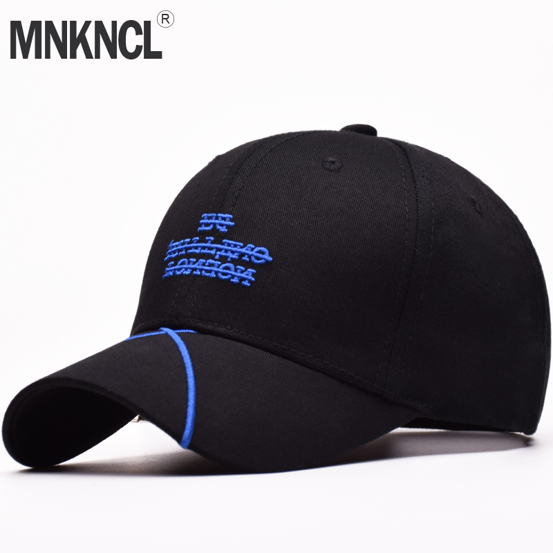 MNKNCL High Quality Baseball Cap Unisex Sports Leisure Hats Letter Embroidery Sport Cap For Men and Women Hip Hop Hats fashion printed skullies high quality autumn and winter printed beanie hats for men brand designer hats