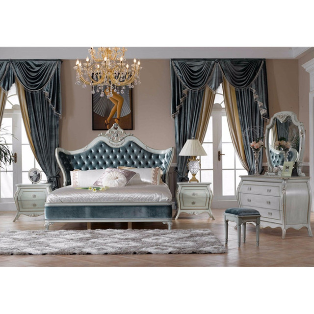 High End American Style Classical Bed In Beds From Furniture On