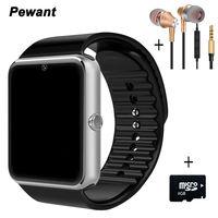 Wysokiej jakości zegarek bluetooth smart watch gt08 cyfrowe zegarki sportowe dla androida samsung huawei urządzenia poręczny smartwatch