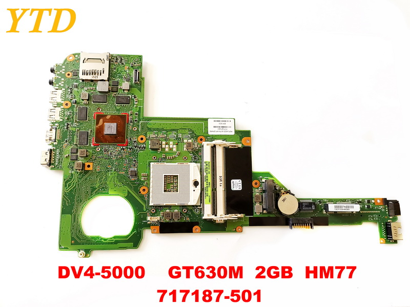 Original for HP DV4-5000  laptop motherboard DV4-5000    GT630M  2GB  HM77  717187-501 tested good free shippingOriginal for HP DV4-5000  laptop motherboard DV4-5000    GT630M  2GB  HM77  717187-501 tested good free shipping