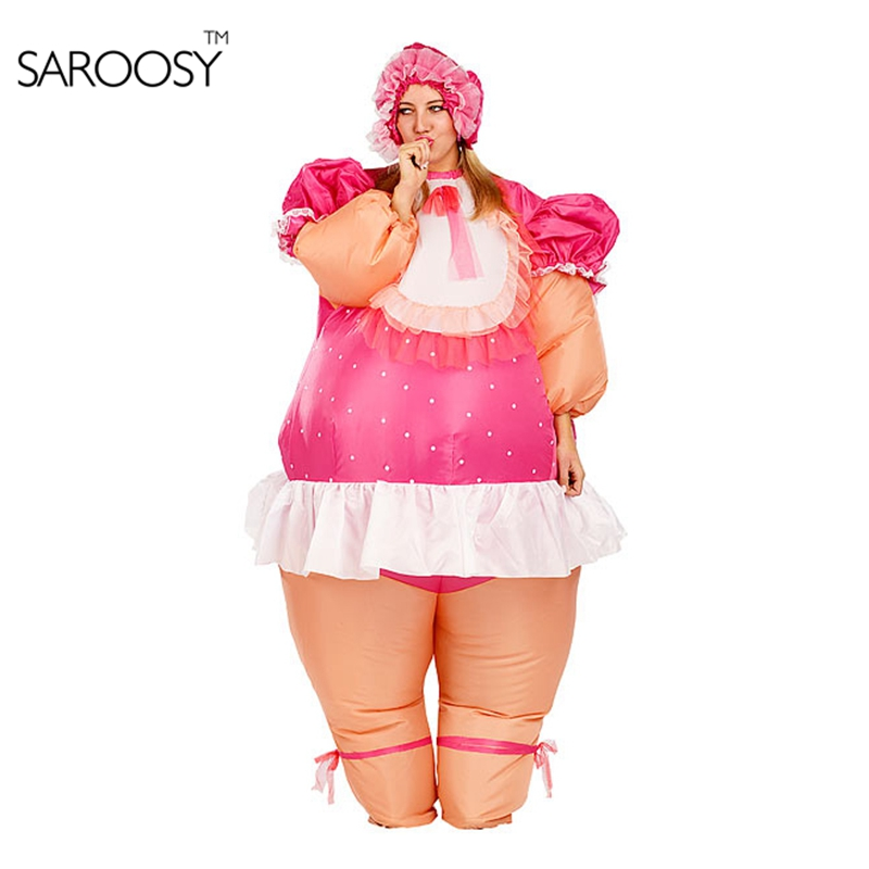 New style Russian baby doll inflatable costumes baby girl Inflatable Costume Adult Fancy Dress Suit Party