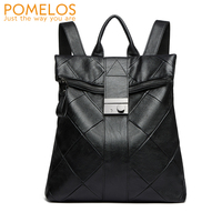 POMELOS Women Backpack HOT SALE Anti Theft Backpack Designer Backpacks Women High Quality Microfiber Synthetic Leather Backpack