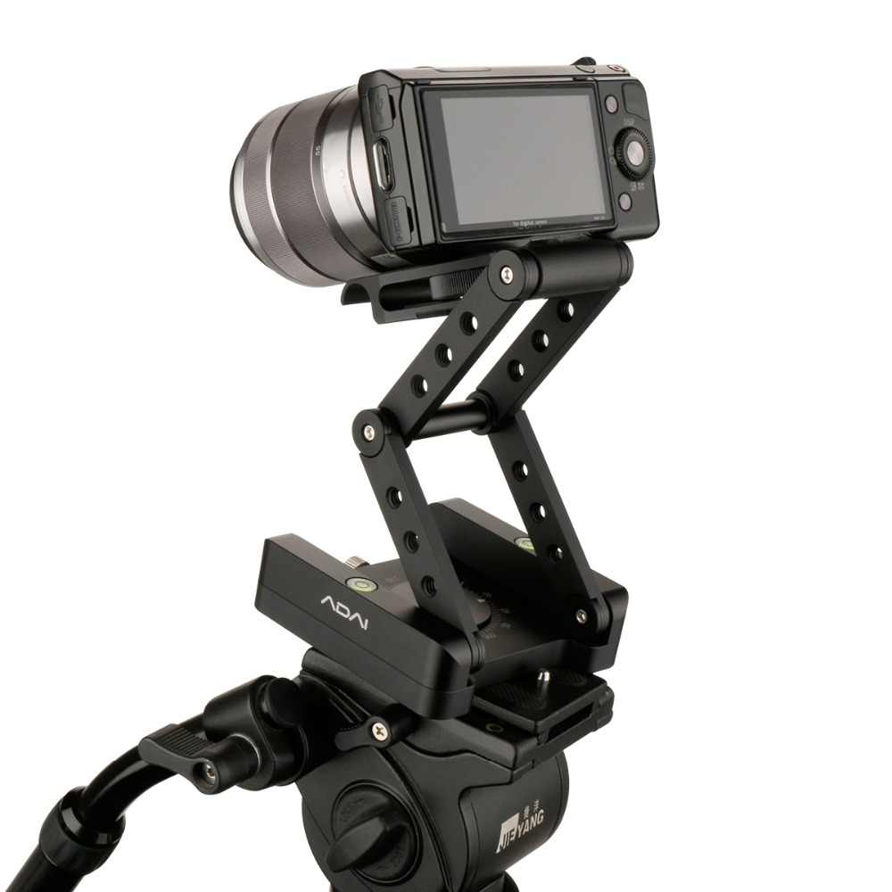 M гибкий, наклоняющийся штатив головка из алюминиевого сплава складной быстроразъемный Стенд крепление уровня духов для телефонов камеры