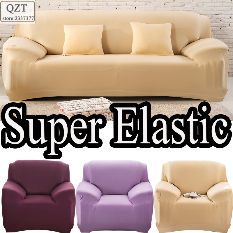 Case on the sofa universal l shaped furniture corner stretch fabric housse divan corner sofas for Housse divan