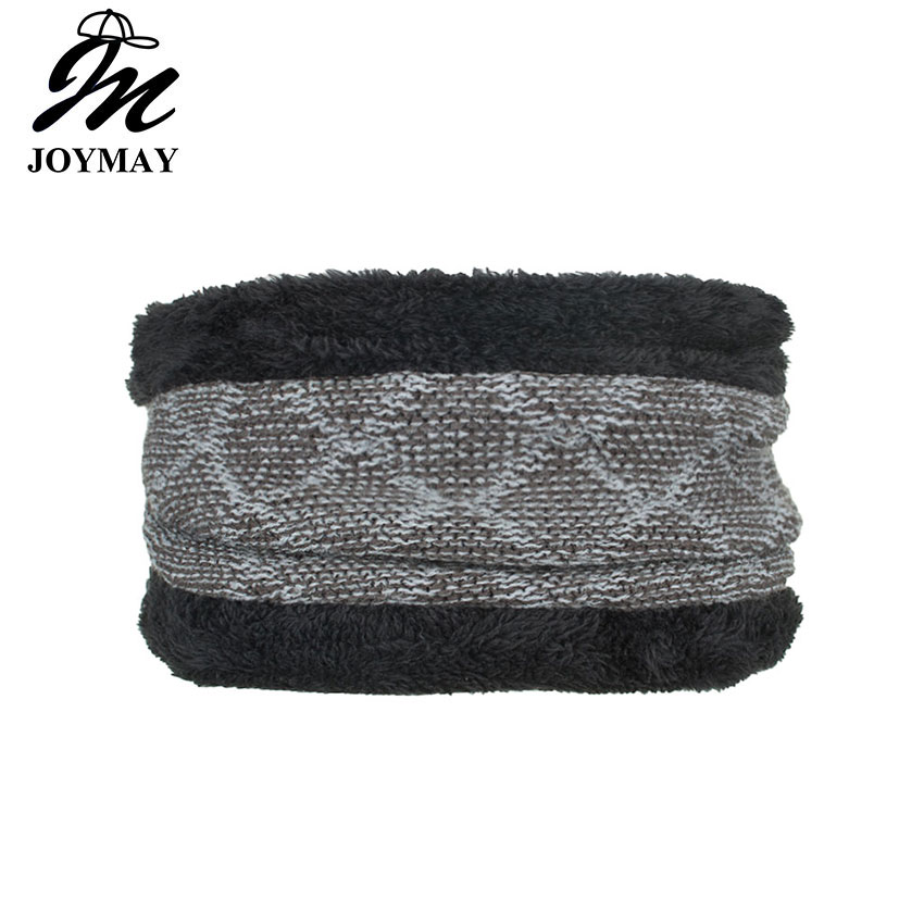 jOYMAY Winter Warm Collar Neck Gaiter Soft Knitting Scarf Coldproof Warmer Face Mask for Outdoor Sports Hiking Scarves WM101