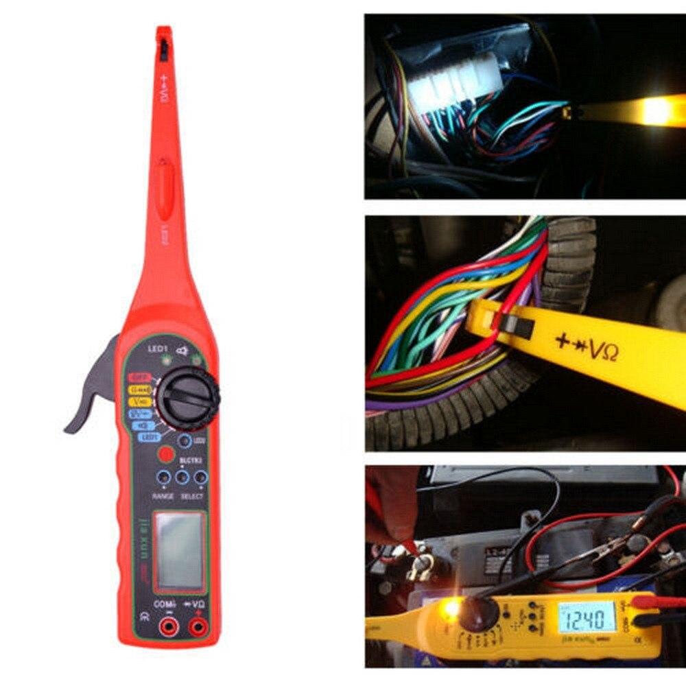 Abra o Circuito de Reparação de Veículos Fio de Cabo de Fios Cabo Automotivo Carro Rastreador Display Digital Short & Localizador Detector Tracer