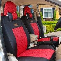 (Спереди и сзади) универсальное автокресло крышка для Suzuki Jimny grand vitara Kizashi Swift Alto SX4 Палитры аксессуары авто стиль