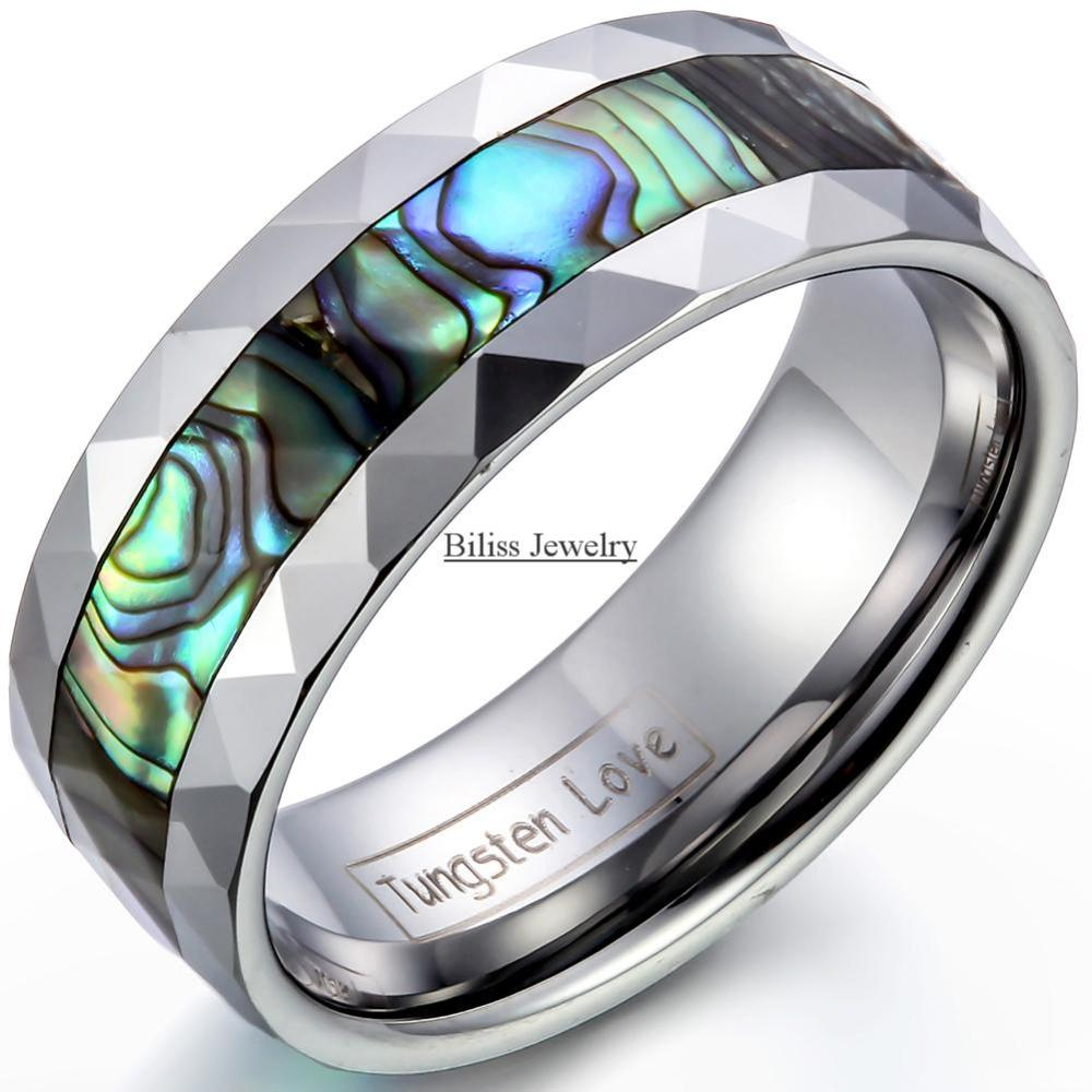 ring s rings men products pch comfort women womens abalone wedding koa dsc tungsten wood mens fi dome band