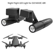 Vôo Noturno PGYTECH Profissional Luzes LED de visão de 30 Graus Ajustável 1 MAVIC Piar Lâmpada de Substituição para DJI Zangão AR