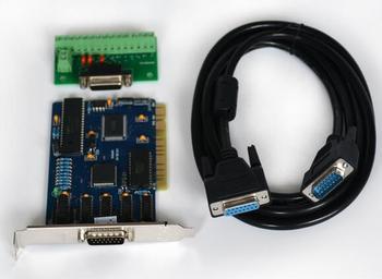 Envío gratis 3 ejes Sistema de control cnc NC Studio controlador de tarjeta + cable + Junta