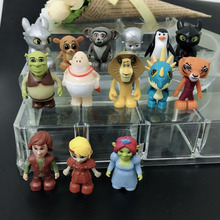 new arrival ?00pcs/lot cool style famous cartoon pvc toy for bonus gift