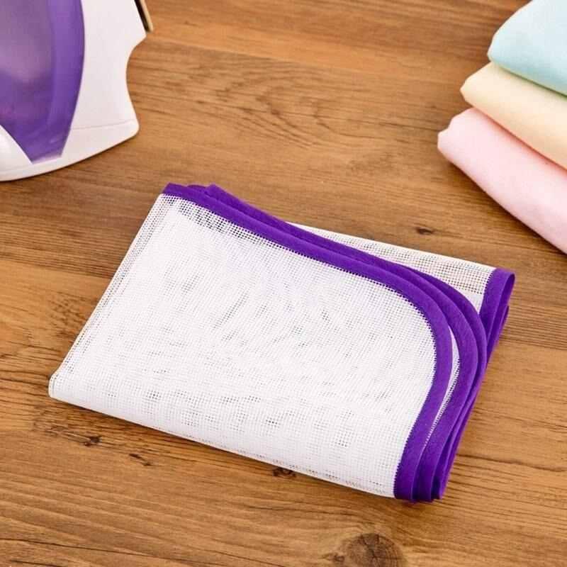 Защитная термостойкая салфетка для глажки, сетчатая изоляционная подкладка, Защитная крышка для одежды