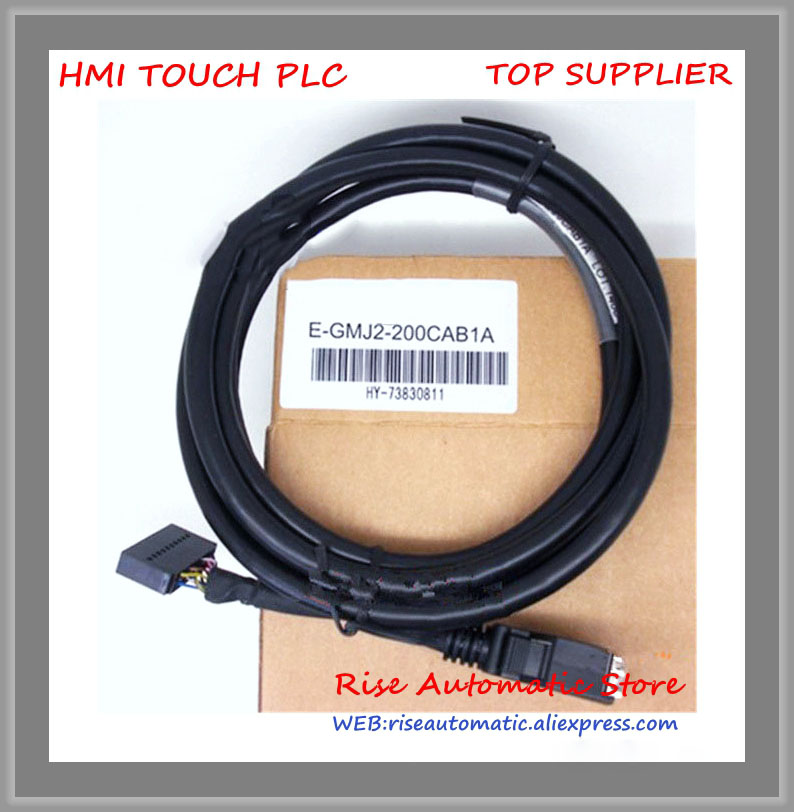 New Original E-GMJ2-200CAB1A PLC Cable connecting FX2N-20GM and MR-J2S high-quality free shipping usb mr cpcatcb mr j2s 3m cable j2s servo motor programmer cable 3m