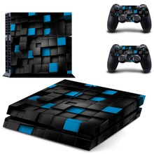 Vinyl Skins Decal Sticker Whole Body Cover Desgin Skins For Playstation 4 Console & Two Wireless Controller