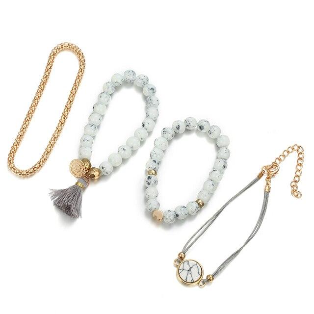 Men's And Women's Bracelets 4 Pieces / Set  5