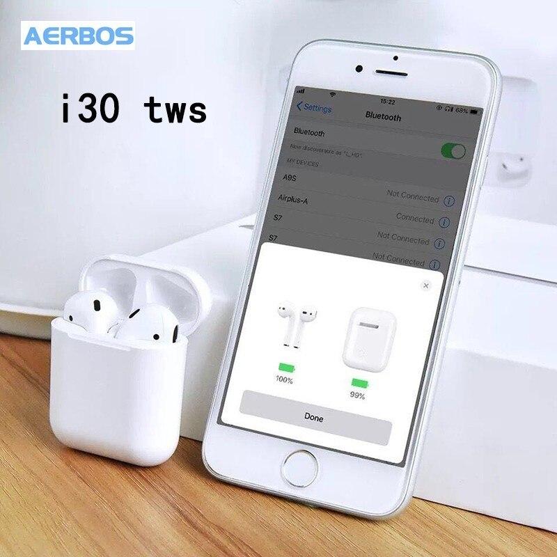 I30 Tws Bluetooth écouteurs taille 1:1 contrôle tactile VS W1 puce casque Pk I10 I20 Tws I10tws I12 Tws I88 I13 I15 Tws Xy Pods