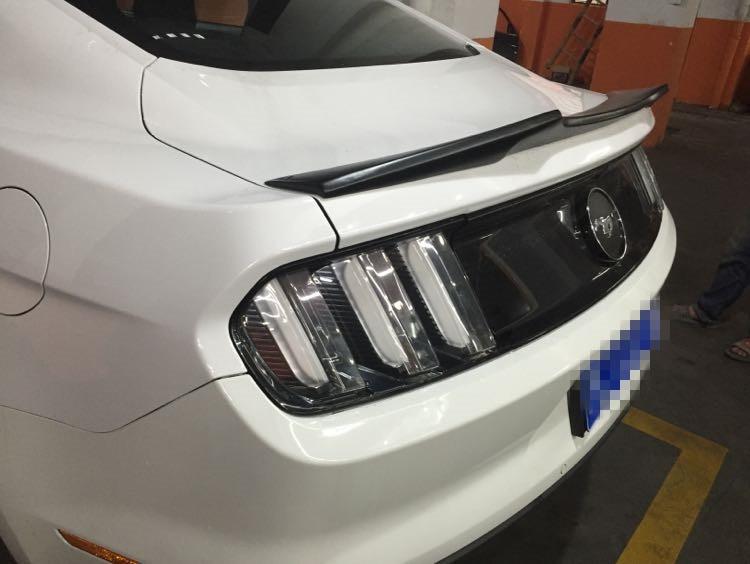 Ford Mustang ABS rear trunk spoiler wings for ford mustang 2-door 2015-2017 gloss black lip lid spoiler mustang ford mustang cobra jet