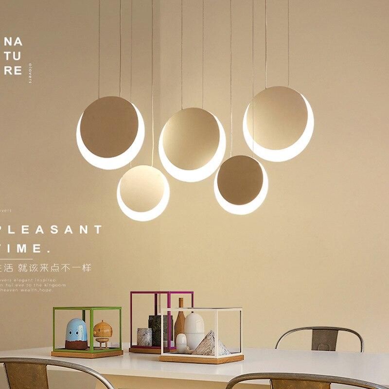 Nordic Parlor chandelier creative personality bedroom restaurant Cafe decorative lighting modern minimalist living room LED lamp цена и фото