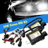 Un conjunto H7 xenon hid kit H4 H1 H11 H8 9005 HB3 9006 HB4 881 D2S xenon hid lastre para luz del coche 4300 K 6000 K 8000 K 12 V