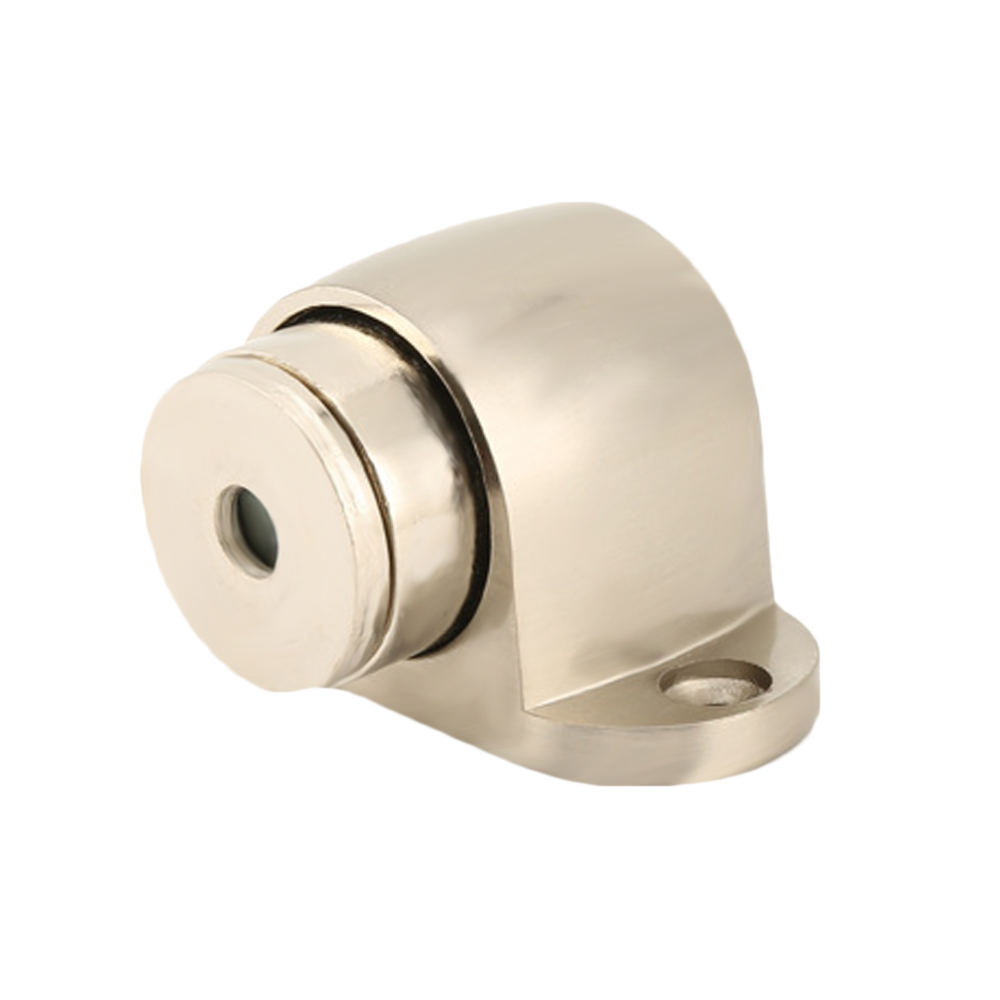 1Pc Doormagnet Door Stopper Zinc Alloy Magnetic Holder Floor Toilet Glass Door Doorstop Furniture Hardware все цены
