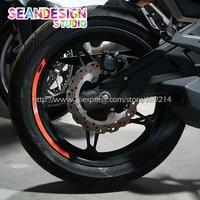 New KTM Duke 200 250 390 690 990 1190 1290 RC8 RC390 4 Strips Wheel Sticker