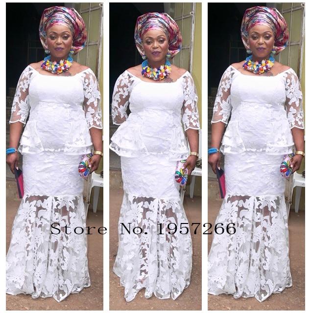 Белый Новое поступление красивые французские пайетки кружевной ткани витой блестками модные яркие Африканский кружевной ткани M10186