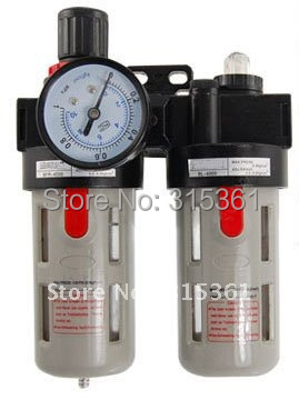 Free Shipping 2PCS/Lot BFC2000 Adjustable Pressure Air Source Treatment Unit купить недорого в Москве