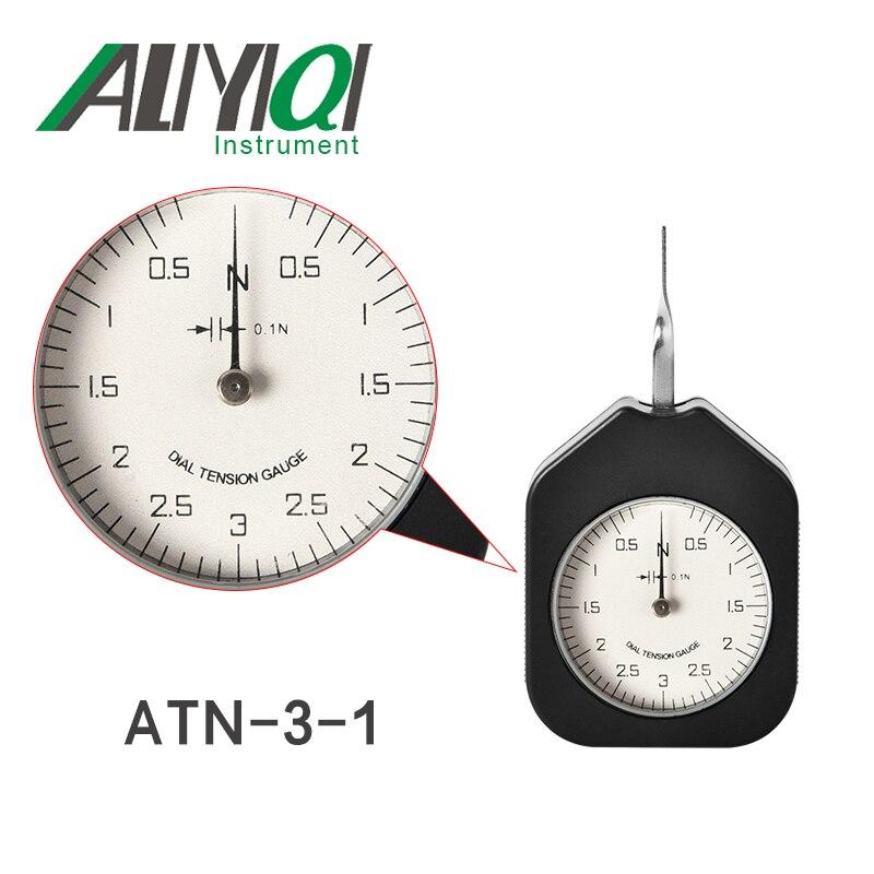 Free Shipping3N Dial Tension Gauge Tensionmeter Single Pointer(ATN-3-1)tensiometro