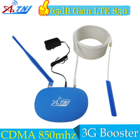 CDMA 850Mhz Repeater 65dB LTE 850mhz Repetidor 850Mhz Cell Phone Signal Booster GSM Signal Repeater Amplifier 2G 3G 4G Antenna