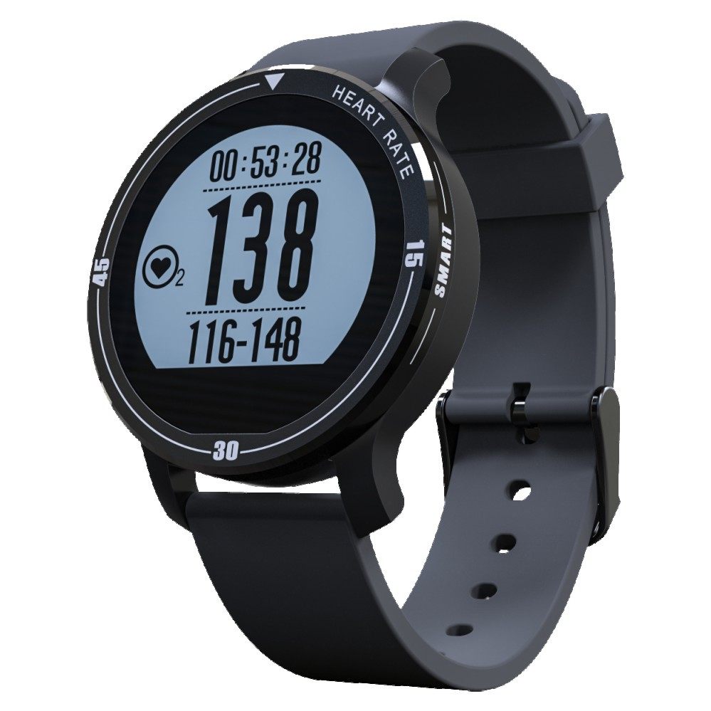 ФОТО 2017 IP67 waterproof Newest bracelet men S200 sport smartwatch Smart Watch With Heart Rate Monitor Supporting Swimming Pedometer
