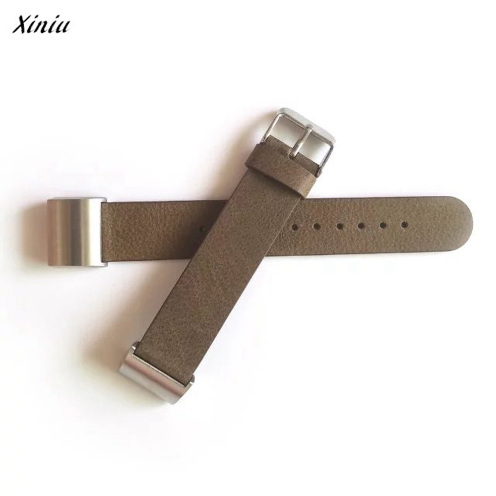Xiniu Luxury PU Leather Watch Band Strap Accessories Watchbands+ Lugs Adapters For Fitbit Charge 2 watches accessories watchbands soft silicone strap replacement watch band lugs adapters for garmin forerunner 920xt gps watch