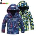 Spring Boys Jacket Children Outerwear Autumn Kids Jackets Double-deck Children Jacket Waterproof Windproof Boys Jackets For 3-12