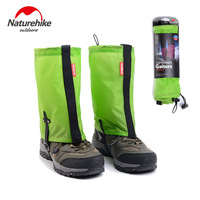Naturehike Boot Gaiters Short Ultralight Waterproof Anti Dirty Trekking Leg Warmers Nylon Durable Legging Gaiters Men