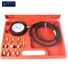 TU 11A Universal Automotive Druck Tester Druck Meter Öl Druck Tester Messgerät Test Kit Garage Werkzeug