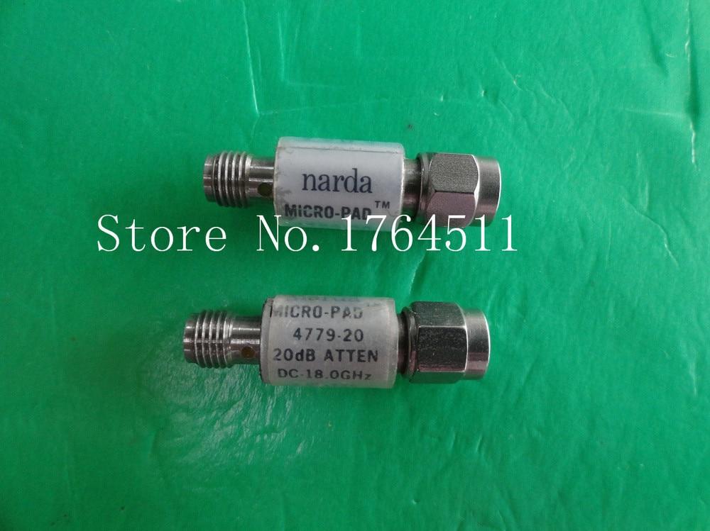 [BELLA] NARDA 4779-20 DC-18GHz Att:20dB P:2W SMA Coaxial Fixed Attenuator