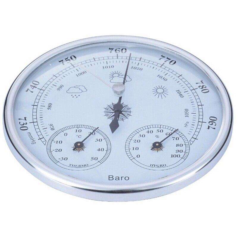 1 шт. новый настенный бытовой термометр гигрометр Высокоточный манометр прибор для измерения погоды