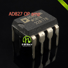 AD827 The original America company double op amp operational amplifier  op amp