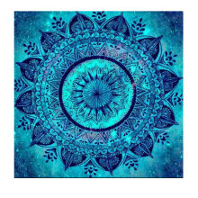 Full Square / Round 5D Diamond Painting Mandala Diamond Mosaic 3D Diamond Embroidery Flowers Peace sign DIY Painting Decor FG557(China)