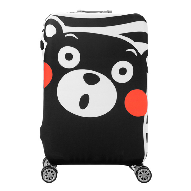 2019sereqi Cute Animal Cartoon Suitcase Cover, 19 32 Inch Trolley Case Elastic Dust Cover Travel Accessories Suitcase Cover