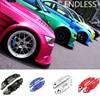 KUNBABY 4PCS Sets ENDLESS Caliper Cover Aluminum Alloy Brake Caliper Covers Front Rear Decoration Car Styling